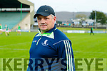 Seamus Murphy, Saint Brendan's manager before the Kerry County Senior Football Championship Semi-Final match between East Kerry and St Brendan's at Austin Stack Park in Tralee, Kerry.