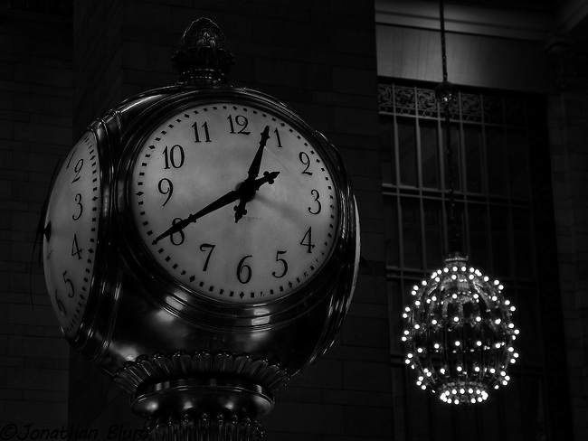 Telling Time, Grand Central Station, New York City