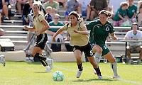Tina DiMartino #5, Kendall Fletcher...Saint Louis Athletica tied FC Gold Pride 1-1, at Anheuser-Busch Soccer Park, Fenton, MO.