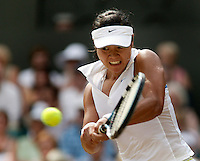 4-7-06,England, London, Wimbledon, quarter finals, Li