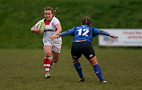 Sunday 3rd December 2017; Ulster Women vs Leinster Women<br /> <br /> Lesley Megarity during the Women's Inter-Pro between Ulster and Leinster at Dromore RFC, Barbon Hill, Dromore, County Down, Northern Ireland. Photo by John Dickson / DICKSONDIGITAL