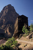 silver mine, Creede, CO, Colorado, Remains of Bachelor Silver Mine near the town of Creede.