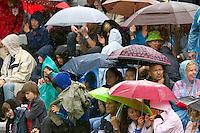 26-05-10, Tennis, France, Paris, Roland Garros, Rain