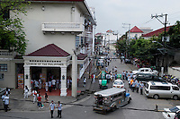 Philippines, Manila, 5 march, 2008..Lyceum of the Philippines in Intramuros the oldest district of the city of Manila...Lyceum van de Filippijnen in Intramuros, het oudste district van Manila, de hoofdstad van de Filippijnen...Photo Kees Metselaar