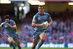 Cardiff Blues v Leicester Tigers - Heineken Cup Semi-Final at the Millennium Stadium in Cardiff..Cardiff's Jamie Roberts runs in his try..