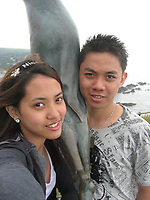 """Pictured: Ricafort Gamboa (R), image taken from open social media account.<br /> Re: A driver has been jailed for causing a crash which killed his friend as he tried to reach 100mph to film footage for Snapchat.<br /> Ricafort Gamboa, 25, from Bolton, raced along country roads near Aberystwyth, while friends inside his car filmed him on their mobile phones.<br /> But his Citroen C3 smashed into a wall, killing Ernest Pideli, 18 and injuring two others, Swansea Crown Court heard.<br /> Gamboa admitted causing death and serious injury by dangerous driving.<br /> He was jailed for four years after telling police: """"I take full responsibility for what happened. My stupid decision to drive so fast was the cause of the collision.<br /> """"I deserve to be punished. I am deeply sorry for what happened.""""<br /> Paul Hobson, prosecuting, told the court the group had been returning to Manchester after a holiday at a caravan site in Fishguard, Pembrokeshire."""