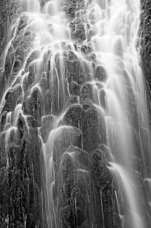 Upper Proxy Falls. Three Sisters Wilderness, Oregon