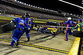 Monster Energy NASCAR Cup Series<br /> Monster Energy NASCAR All-Star Race<br /> Charlotte Motor Speedway, Concord, NC USA<br /> Saturday 20 May 2017<br /> Kyle Busch, Joe Gibbs Racing, M&M's Caramel Toyota Camry pits.<br /> World Copyright: Rusty Jarrett<br /> LAT Images<br /> ref: Digital Image 17CLT1rj_4699