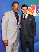 NEW YORK CITY, NY, USA - MAY 12: Russell Hornsby, David Giuntoli at the 2014 NBC Upfront Presentation held at the Jacob K. Javits Convention Center on May 12, 2014 in New York City, New York, United States. (Photo by Celebrity Monitor)