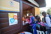August 4, 2014, Netherlands, Dordrecht, TC Desh 35, Tennis, National Junior Championships, NJK, Opening ceremony, <br /> Photo: Tennisimages/Henk Koster
