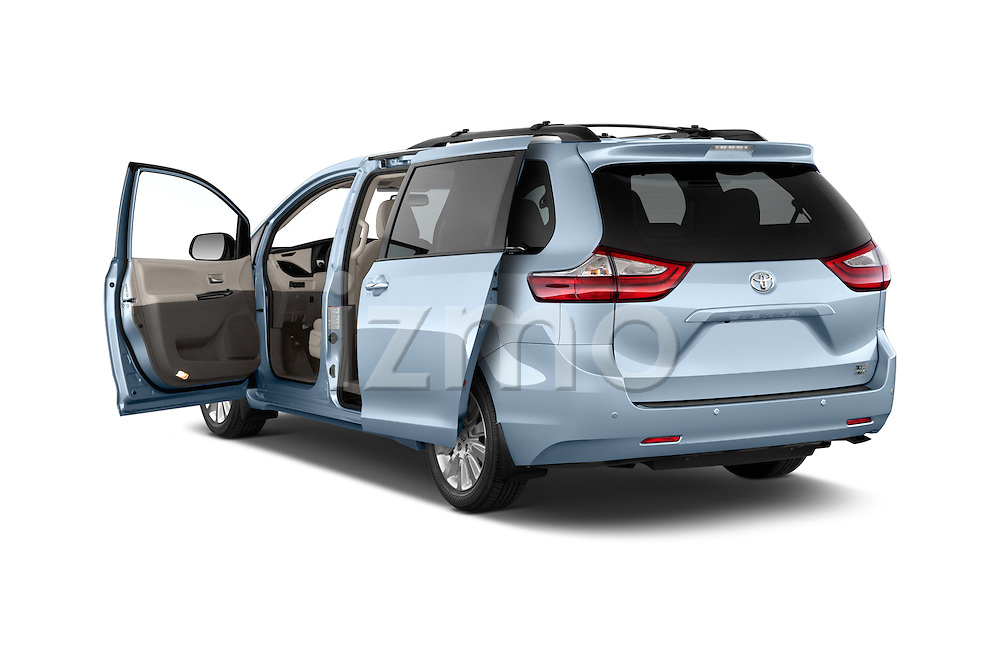 Car images of 2017 Toyota Sienna XLE 5 Door Minivan Doors