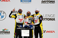 Podium:<br /> #17: JDC-Miller MotorSports Audi RS3 LMS SEQ, TCR: Chris Miller, Mikey Taylor, William Tally