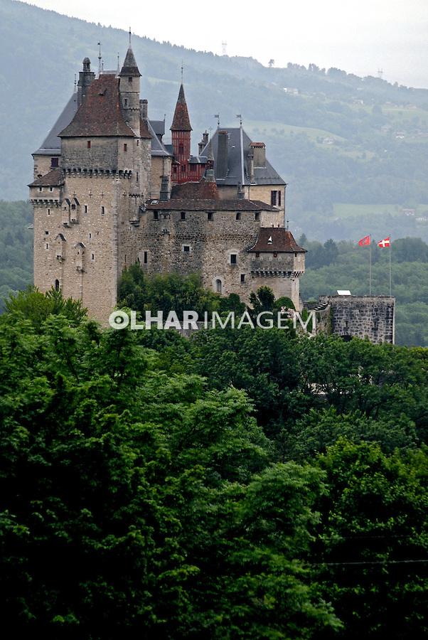 Castelo Charteau de Menthon em Annecy. França. 2008. Foto de Thais Falcão.