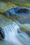 Waterfall-scapes along Panther Creek, at the junction of the west and east forks, Amador Country, Calif.