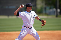 Detroit Tigers Colby Bortles (45) during a Minor League Spring Training game against the Toronto Blue Jays on March 22, 2019 at the TigerTown Complex in Lakeland, Florida.  (Mike Janes/Four Seam Images)