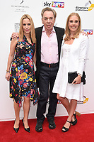 Lord Andrew Lloyd Webber and daughters, Imogen and Isabella<br /> at the South Bank Sky Arts Awards 2017, Savoy Hotel, London. <br /> <br /> <br /> ©Ash Knotek  D3288  09/07/2017