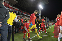 TORONTO, ON - OCTOBER 15: Zack Steffen #1 of the United States walking out during a game between Canada and USMNT at BMO Field on October 15, 2019 in Toronto, Canada.