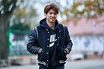 18.11.2020, Trainingsgelaende am wohninvest WESERSTADION,, Bremen, GER, 1.FBL, Werder Bremen Training, im Bild<br /> <br /> <br /> <br /> Yuya Osako (SV Werder Bremen #8) in Zivil<br /> <br /> Foto © nordphoto / Gumz
