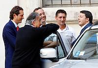 20140725 ROMA-ECONOMIA: RENZI, MARCHIONNE ED ELKANN PRESENTANO LA NUOVA FIAT JEEP RENEGADE