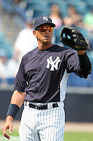 New York Yankees Alex Rodriguez #13 during a Spring Training game vs the Houston Astros at George M. Steinbrenner Field in Tampa, Florida;  March 2, 2011.  New York defeated Houston 6-5.  Photo By Mike Janes/Four Seam Images