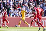 Tom Rogic of Australia (C) in action during the AFC Asian Cup UAE 2019 Group B match between Palestine (PLE) and Australia (AUS) at Rashid Stadium on 11 January 2019 in Dubai, United Arab Emirates. Photo by Marcio Rodrigo Machado / Power Sport Images