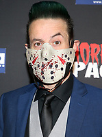 HOLLYWOOD, CA - OCTOBER 12: James Reda, at the 21st Screamfest Opening Night Screening Of The Retaliators at Mann Chinese 6 Theatre in Hollywood, California on October 12, 2021. Credit: Faye Sadou/MediaPunch