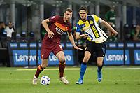 inter-roma - milano 12 maggio 2021 - 36° giornata Campionato Serie A - nella foto: dzeko e ranocchia