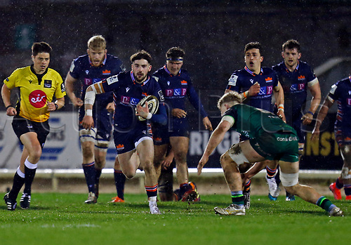 13th March 2021; Galway Sportsgrounds, Galway, Connacht, Ireland; Guinness Pro 14 Rugby, Connacht versus Edinburgh; Charlie Shiel on an attacking run for Edinburgh