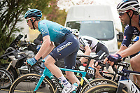 Alex Aranburu (ESP/Astana - Premier Tech) up the infamous Mur de Huy<br /> <br /> <br /> 85th La Flèche Wallonne 2021 (1.UWT)<br /> 1 day race from Charleroi to the Mur de Huy (BEL): 194km<br /> <br /> ©kramon
