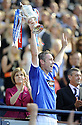 30/05/2009  Copyright  Pic : James Stewart.sct_jspa_12_rangers_v_falkirk.DAVID WEIR LIFTS THE SCOTTISH CUP.James Stewart Photography 19 Carronlea Drive, Falkirk. FK2 8DN      Vat Reg No. 607 6932 25.Telephone      : +44 (0)1324 570291 .Mobile              : +44 (0)7721 416997.E-mail  :  jim@jspa.co.uk.If you require further information then contact Jim Stewart on any of the numbers above.........