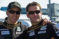 22-25 January, 2009, Daytona Beach, Florida USA.Timo Bernhard & Romain Dumas.©F.Peirce Williams 2009.F.Peirce Williams.photography