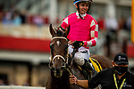 MAY 15, 2021: Rombauer and Flavien Prat win the Preakness Stakes at Pimlico Racecourse in Baltimore, Maryland on May 15, 2021. EversEclipse Sportswire/CSM