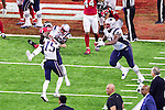 New England Patriots wide receiver Chris Hogan (15) in action during Super Bowl LI at the NRG Stadium in Houston, Texas.