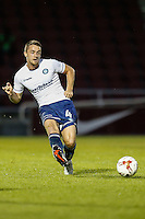 Stephen McGinn of Wycombe Wanderers during the The Checkatrade Trophy match between Northampton Town and Wycombe Wanderers at Sixfields Stadium, Northampton, England on 30 August 2016. Photo by David Horn / PRiME Media Images.