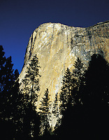 The face of El Capitan, Yosemite National Park, California, US