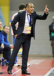 Ugra Yugorsk's coach Kaka during UEFA Futsal Cup 2015/2016 Semifinal match. April 22,2016. (ALTERPHOTOS/Acero)