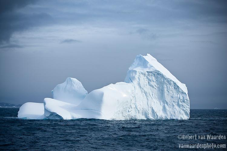 Icebergs in Eastern Greenland