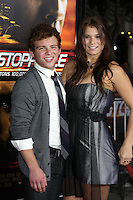 """LOS ANGELES - OCT 26:  Jonathan Lipnicki, Katelyn Pippy arrives at the """"Unstoppable"""" Premiere at Regency VIllage Theater on October 26, 2010 in Westwood, CA"""