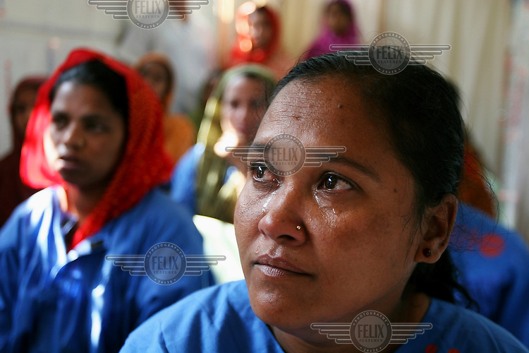 A patient at the Fistula Treatment Centre in the Dhaka Medical College Hospital. Over 71,000 women live with fistula in Bangladesh, with the World Health Organisation estimating over 2.5 million cases worldwide. The UNFPA have trained 45 doctors and 30 nurses to treat the disability at the centre in Dhaka. Obstetric fistula, which can occur after days of obstructed labour, is both treatable and preventable, yet it carries with it a huge stigma, and can have devastating consequences, usually killing the baby and leaving the woman with chronic incontinence....