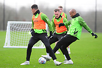 Andre Ayew of Swansea City during the Swansea City Training at The Fairwood Training Ground in Swansea, Wales, UK.  Wednesday 08 January 2020