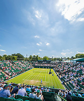 London, England, 5 th July, 2017, Tennis,  Wimbledon, Overall vieuw of court Two.<br /> Photo: Henk Koster/tennisimages.com