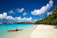 Honeymoon Beach, St John, Virgin Islands National Park.North Shore.US Virgin Islands