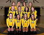 August 28, 2017- Tuscola, IL- The 2017 Tuscola Warrior Junior Varsity Volleyball team. Back from left are Lexie Russo, Allison Clark, Daria Calanchini, and Marissa Russo. Middle row from left are Ashton Smith, Maddie Green, Hope Dietrich, and Grace Voyles. Front row from left are Sidney Watson, Sophie James, Kendyl Ring, and Morgan Jones.  [Photo: Douglas Cottle]