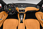 Stock photo of straight dashboard view of 2017 Ferrari California-T 2 Door Convertible Dashboard