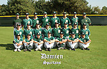 Damien High School baseball team photo.