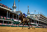 April 30, 2021: Maxfield with Jose Ortiz wins the Alysheba Stakes at Churchill Downs in Louisville, Kentucky on April 30, 2021. EversEclipse Sportswire/CSM