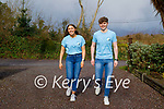 Shannon Foley and Adrian Murphy from Killorglin who are going to walk 100k steps on St Patrick's Day for Recovery Haven