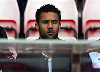 Wayne Routledge of Swansea City in the stand prior to the Premier League match between Sunderland and Swansea City at the Stadium of Light, Sunderland, England, UK. Saturday 13 May 2017