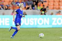 Houston, TX - Sunday Sept. 25, 2016: Megan Rapinoe during a regular season National Women's Soccer League (NWSL) match between the Houston Dash and the Seattle Reign FC at BBVA Compass Stadium.