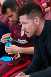 Atletico de Madrid's coach Diego Pablo Cholo Simeone during La Liga match. May 21,2017. (ALTERPHOTOS/Acero)